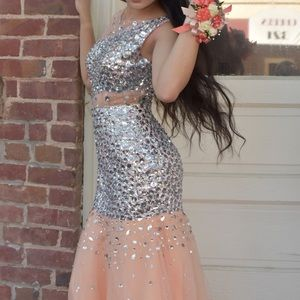 Dresses & Skirts - Jeweled Trumpet Style Dress